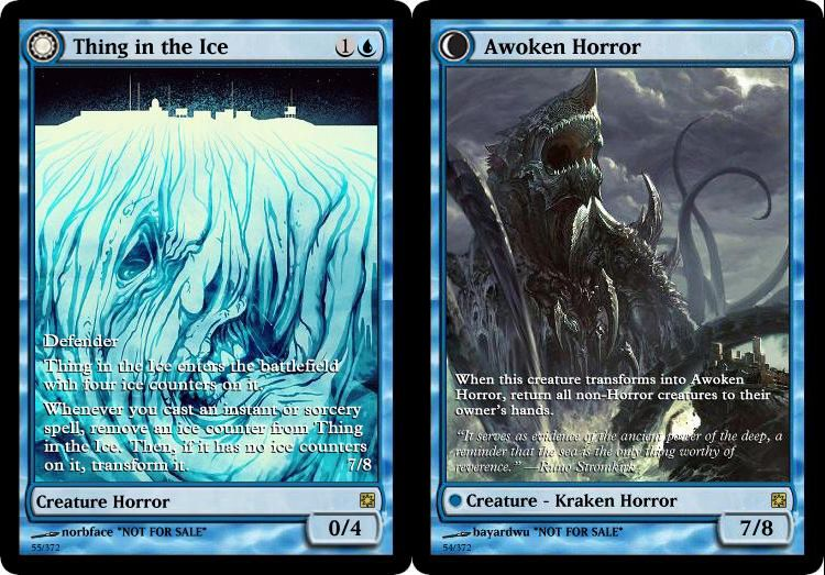 Imgur Com Magic The Gathering Creatures Horror Whenever you cast an instant or sorcery spell, remove an ice counter from thing in the ice. imgur com magic the gathering