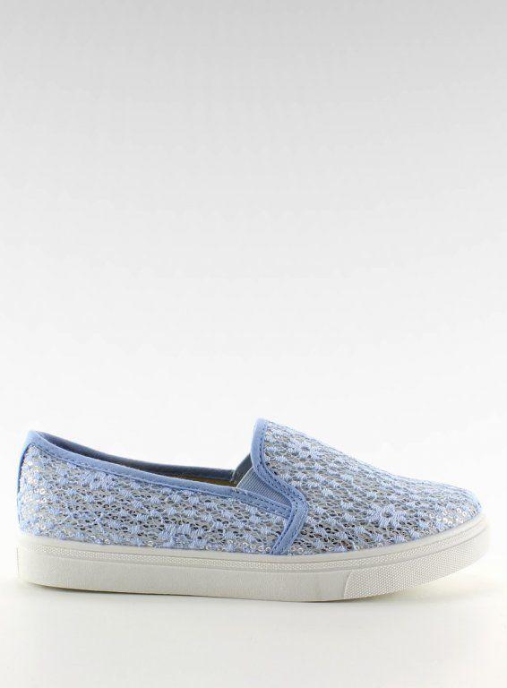 Koronkowe Slip On Pastele Niebieskie 36 41 6070863194 Oficjalne Archiwum Allegro Vans Classic Slip On Sneaker Vans Classic Slip On Slip On Sneaker