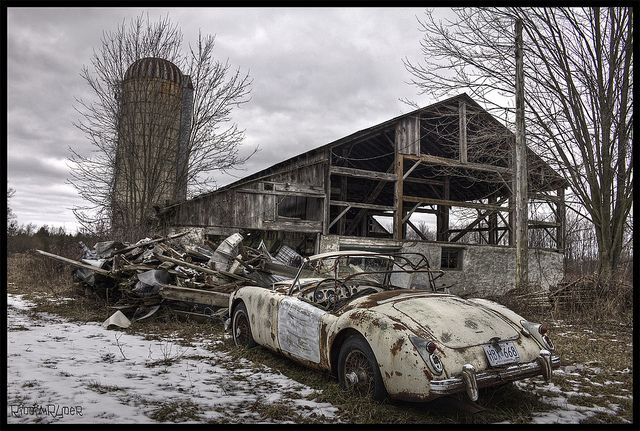 Explore Abandoned Vehicles Cars And More