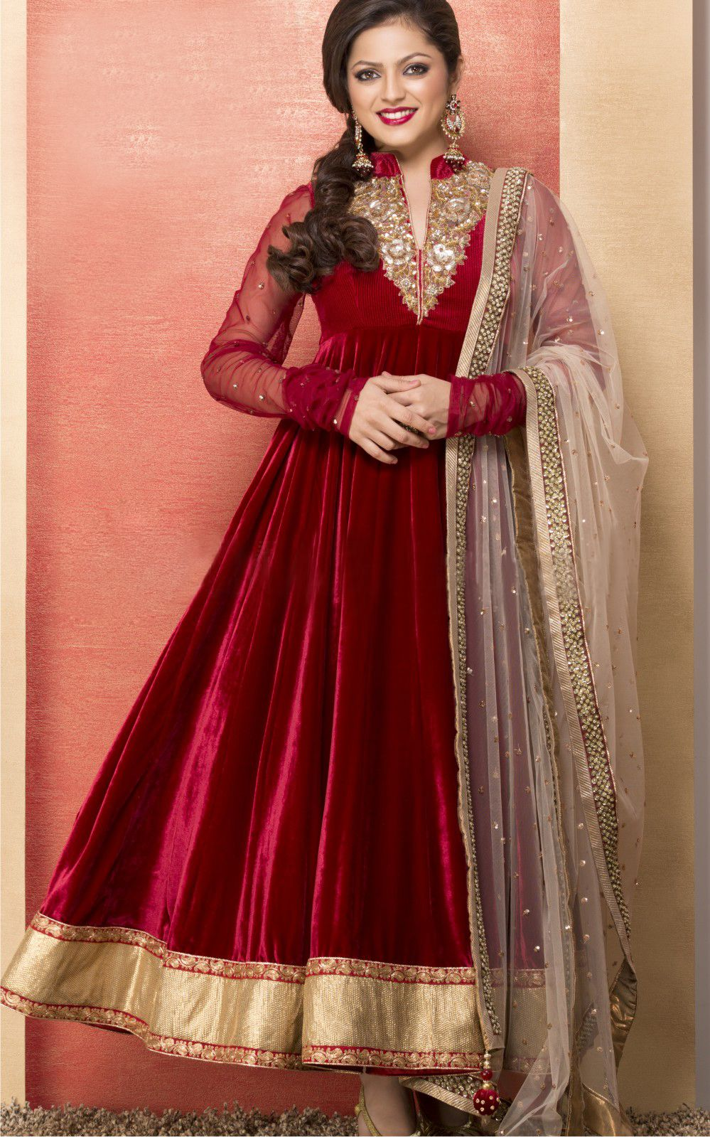 5123acc90e frock designs | Dresses | Beautiful frock design, Anarkali suits ...