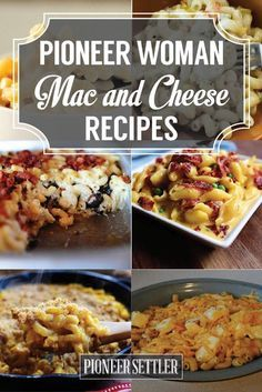 Pioneer Woman Mac and Cheese Recipes | Best Homemade Recipe Ideas For Dinner by Pioneer Settler at http://pioneersettler.com/pioneer-woman-mac-cheese-recipes/