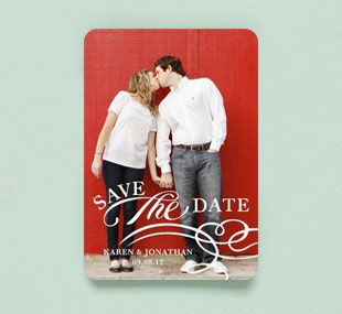 Similar to one of the Save-the-dates I had in mind