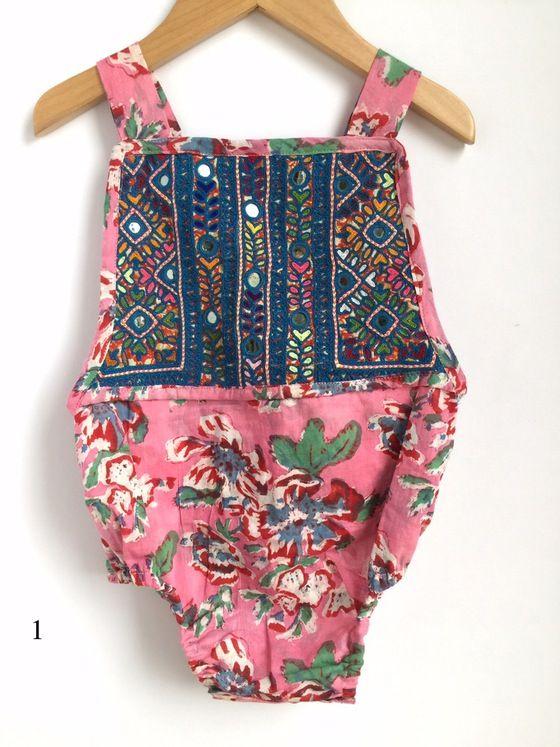 a53a363e0 Image of Banjara Romper 18-24 Months 2T Boho Kids Clothing
