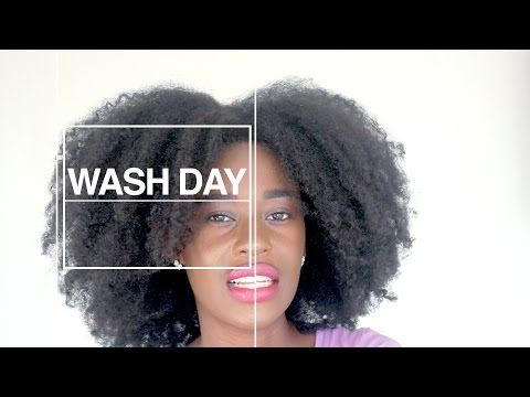 How Often Should I Wash My Natural Hair Newly Natural Series Chadel Mathurin Youtube With Images Natural Hair Styles Wash Hair