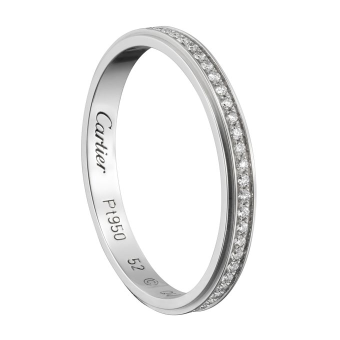 Engraved wedding bands cartier