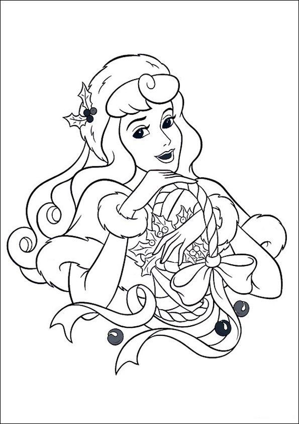 ausmalbilderweihnachten29  princess coloring pages