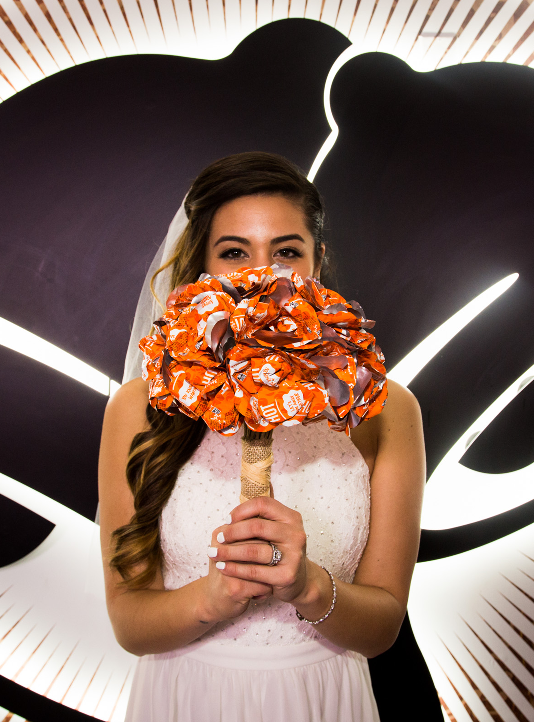 This Couple Will Be The First To Have An Official Taco Bell Themed Wedding Taco Bell Wedding Alternative Wedding Bouquet Taco Bell