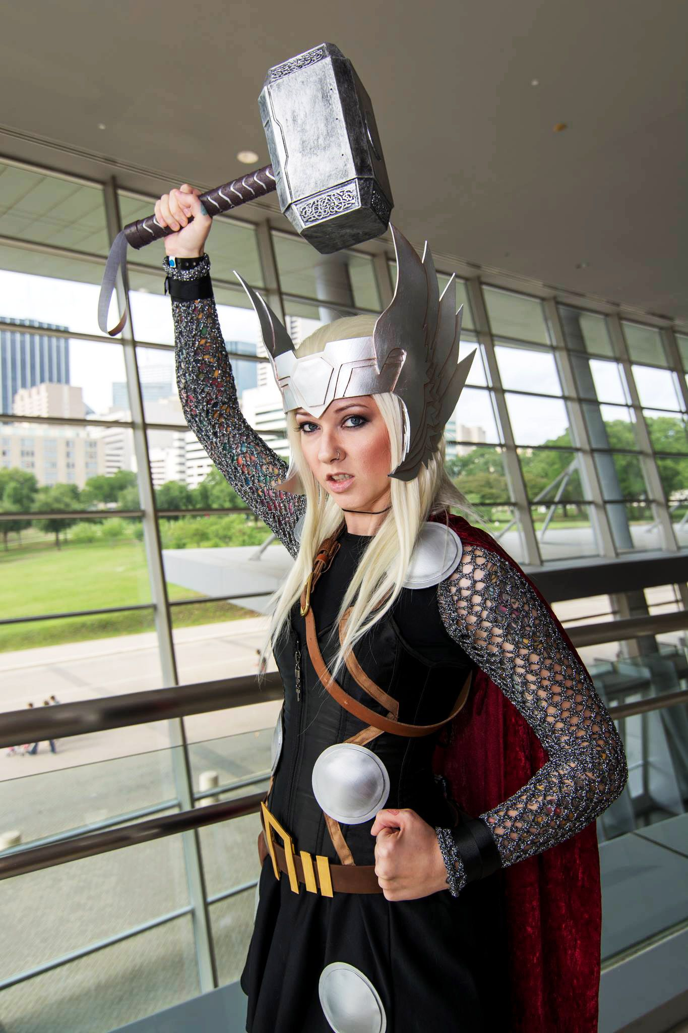 The Mighty Thor #cosplay by Anna Lee | 2014 Dallas Comic Con