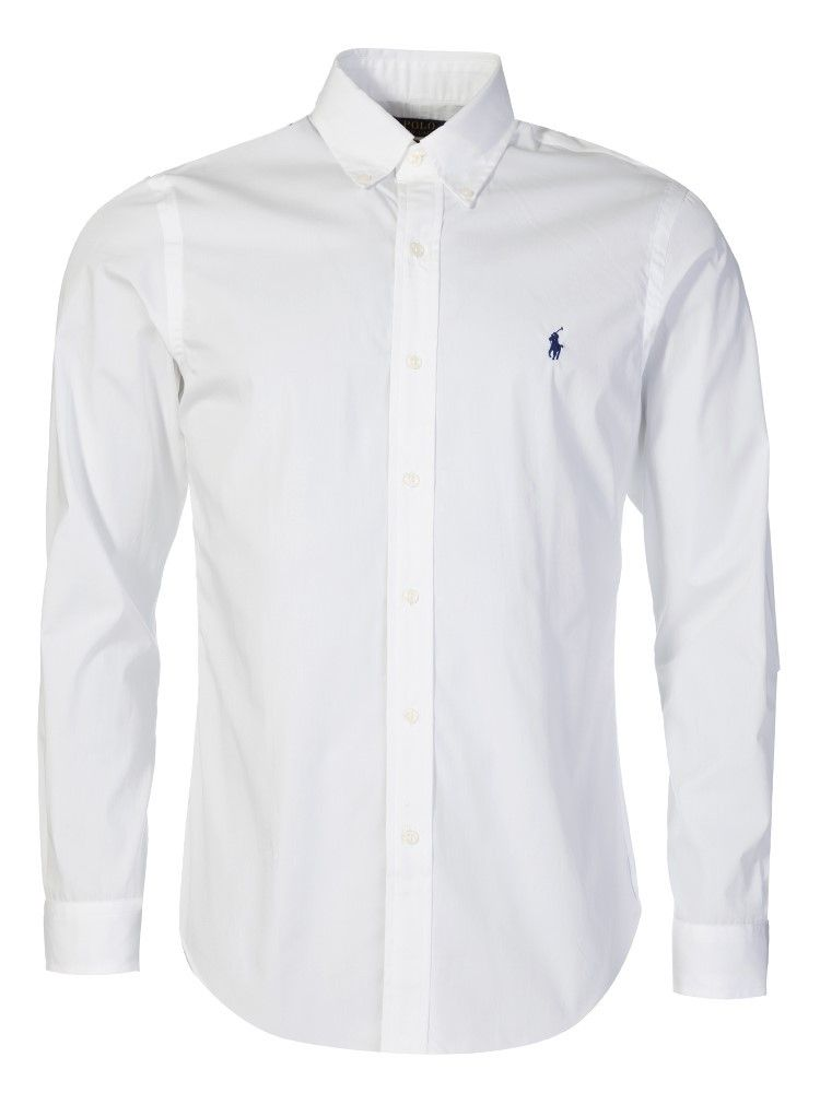 Ralph Lauren White Dress Shirt Polo f6I7vYbgy