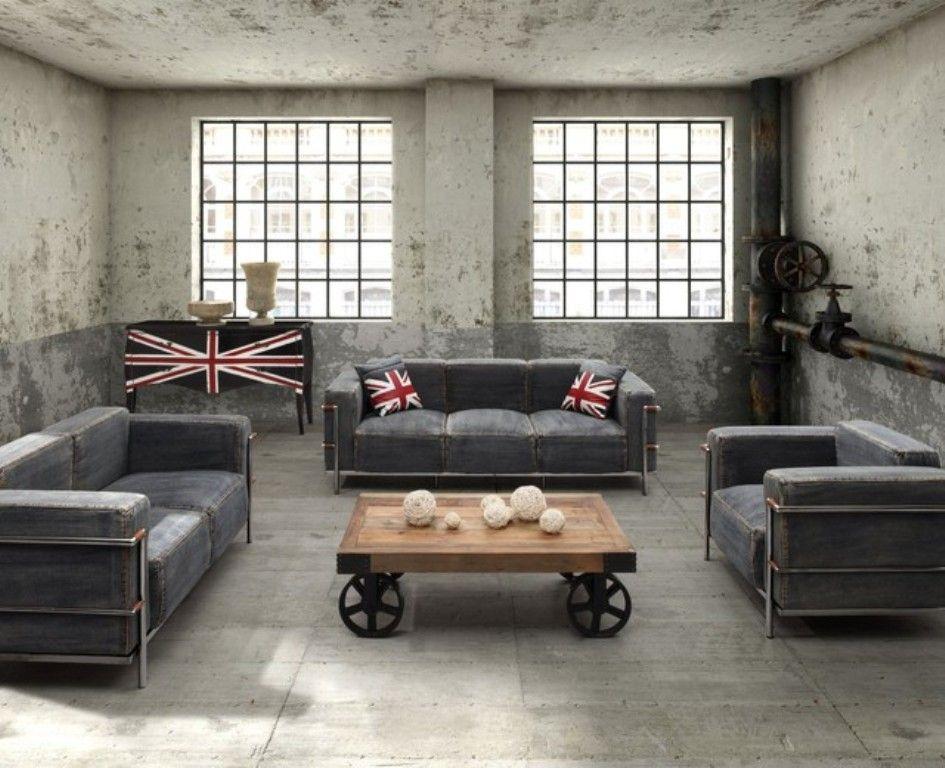 25 Best Industrial Living Room Designs Industrial Style Living