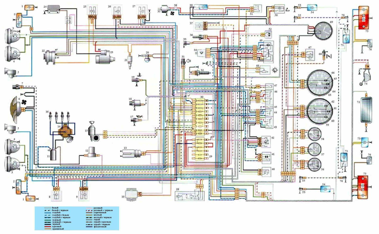 VAZ-2101, generator: wiring diagram, repair, replacement