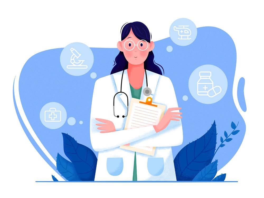 Dribbble Doctor Jpg By Uran Ilustrator Ilustrasi Karakter Ilustrasi