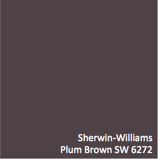 Sherwin Williams Plum Brown Sw 6272 Hgtv Home By