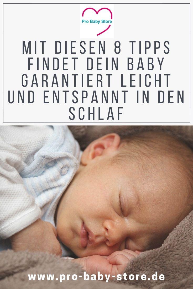 Dein Baby kann nicht einschlafen? - diese 8 Tipps helfen