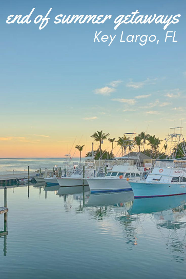 Just A Stone S Throw Away From Florida S Mainland Key Largo Is The First Island Of The Florida Keys Altho Summer Getaways Cool Places To Visit Goodbye Summer