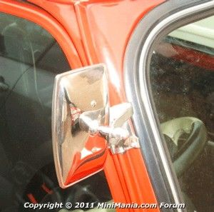 Canadian Auto Network pin: Peep Mirror Overtake Mirror