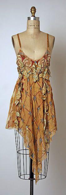Chloé | vestido de noite | Francês | o Met