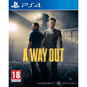 A Way Out Ps4 Jeux Video Achat Prix Fnac Video Games Xbox Xbox One Games Ps4 Games