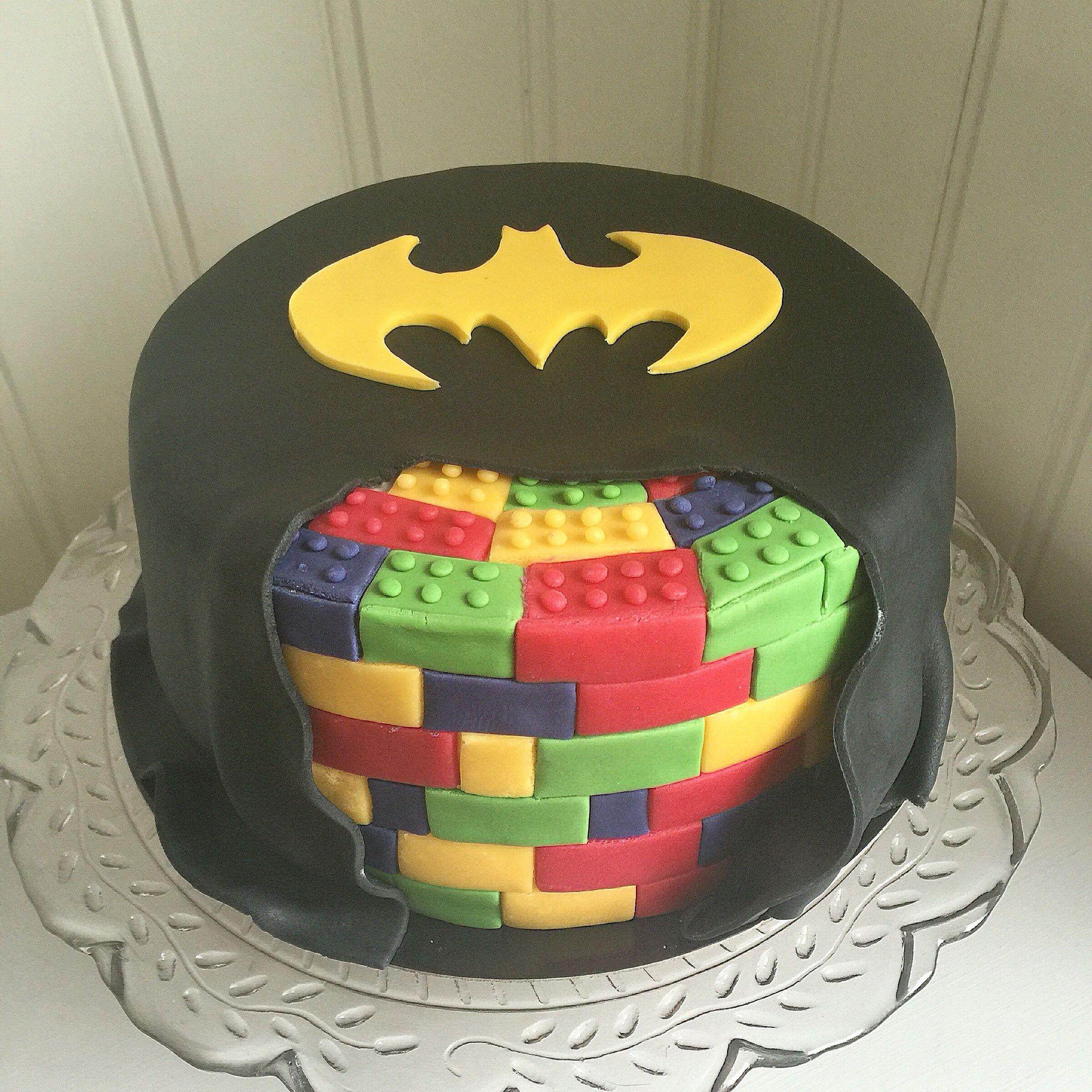 Lego Batman cake made by VA Cakes My homemade cakes Pinterest