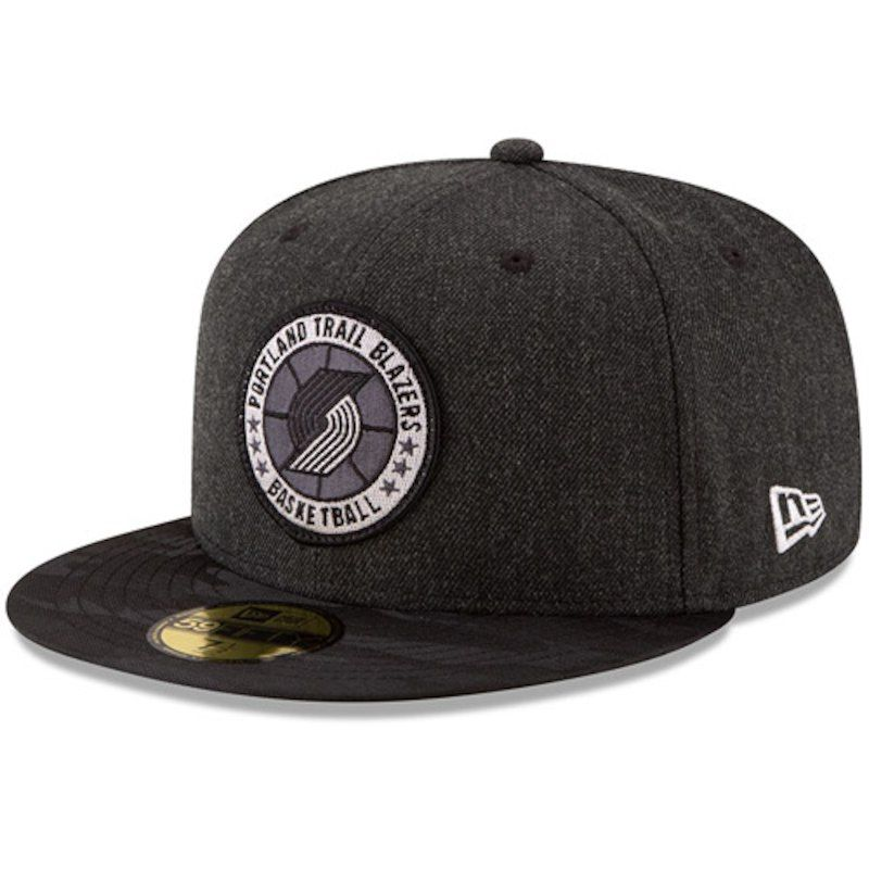 17e68594 Portland Trail Blazers New Era 2018 Tip-Off Series Team 59FIFTY Fitted Hat  – Black