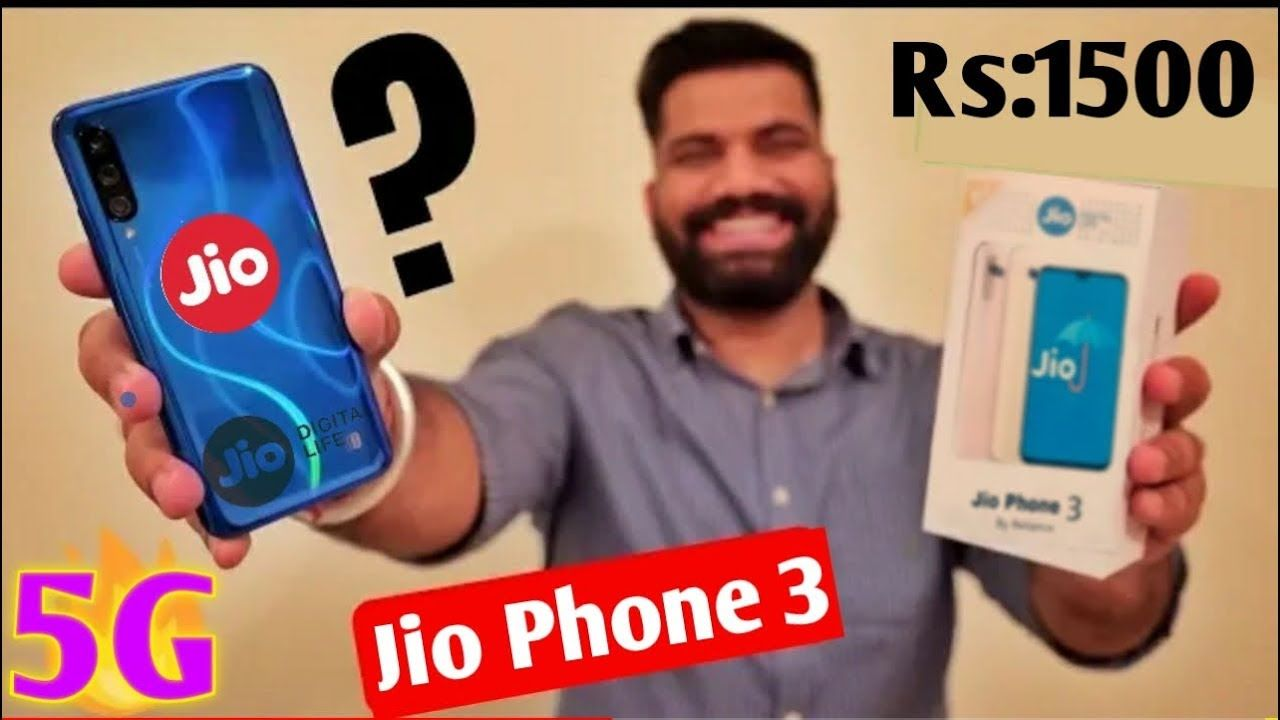 Jio phone 3 Camera 📸 45MP 5G 6GB RAM Price ₹1500