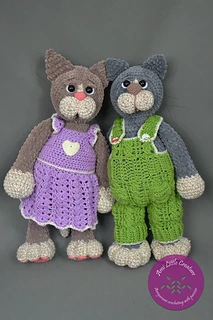 Ravelry: Crochet Colorful Kitty Cat Doll Toy - free pattern by DDs ... | 320x213