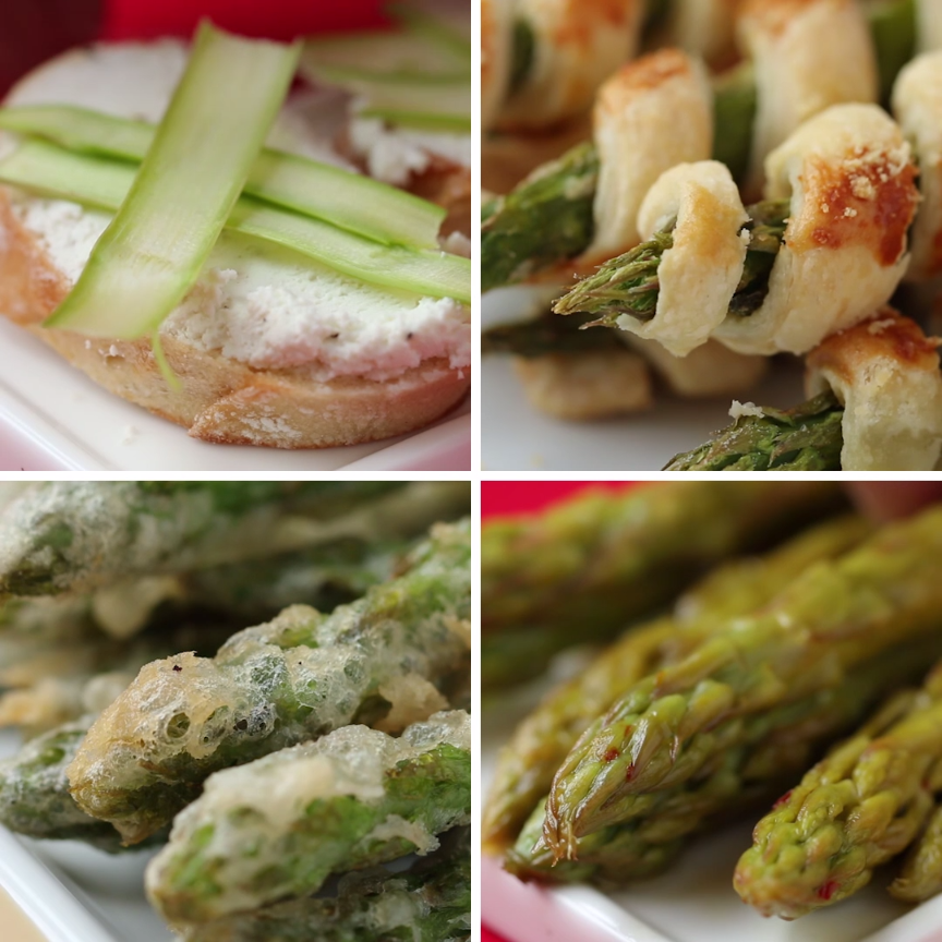 Asparagus 4 ways asparagus foods and recipes asparagus 4 ways forumfinder Image collections