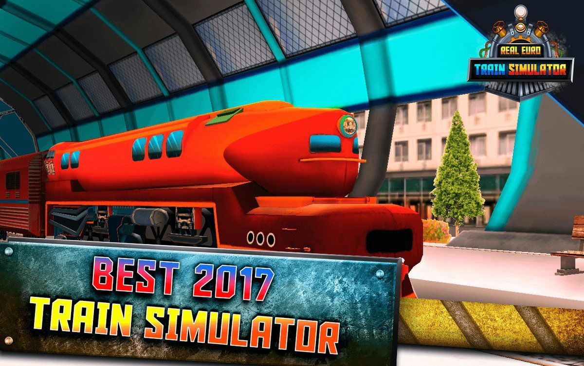 Real euro train simulator game for android and available on