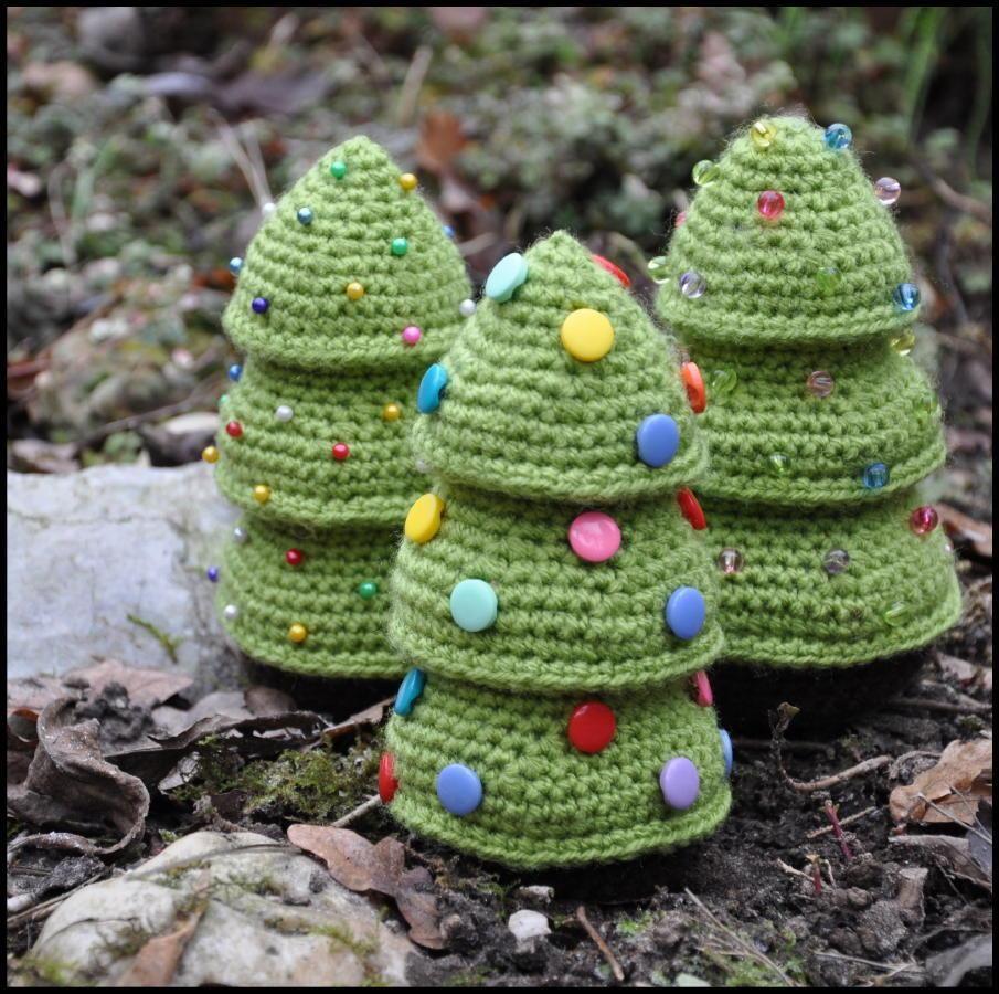 10 Patrones Gratuitos de Árboles de Navidad en Amigurumi | Proyectos ...
