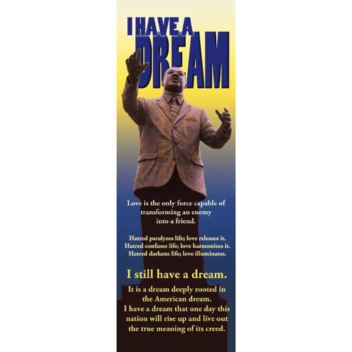 I Have A Dream - Indoor Banner #MLKJR