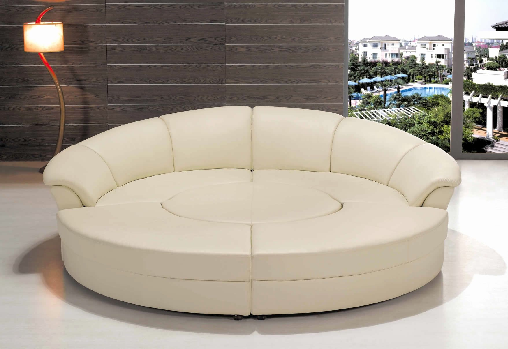 Beautiful Round Sofa Set Designs Art