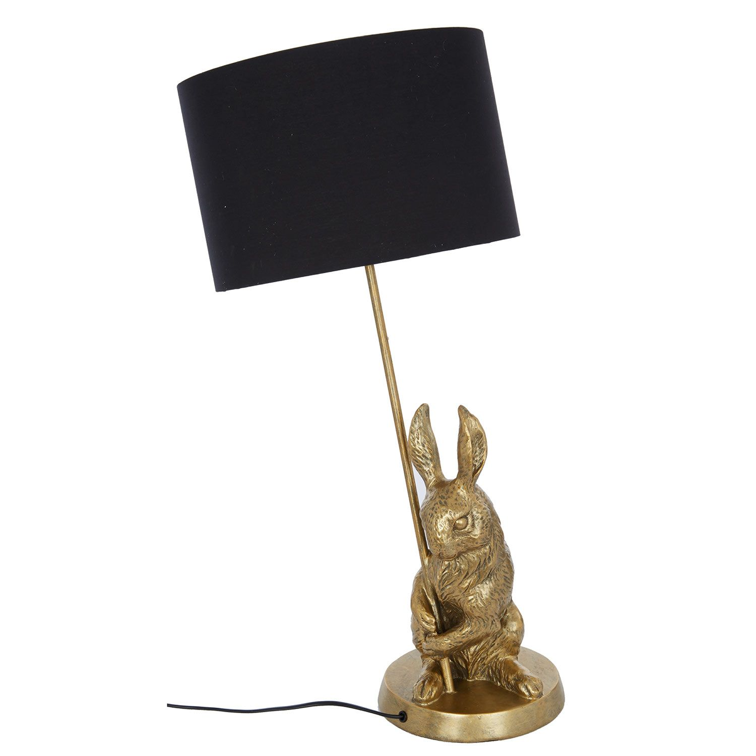 black & gold-tone ceiling rabbit lamp - tk maxx | new things for, Schlafzimmer entwurf