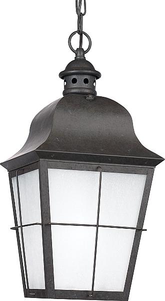Sea Gull Lighting Chatham 1 Light Outdoor Pendant In Oxidized Bronze Lighting Outdoor Lights Patio Outdoor Pendant Lighting Outdoor Lighting Outdoor Pendant