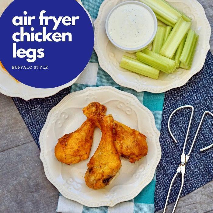 Air Fryer Chicken Drumsticks in 2020 Air fryer chicken