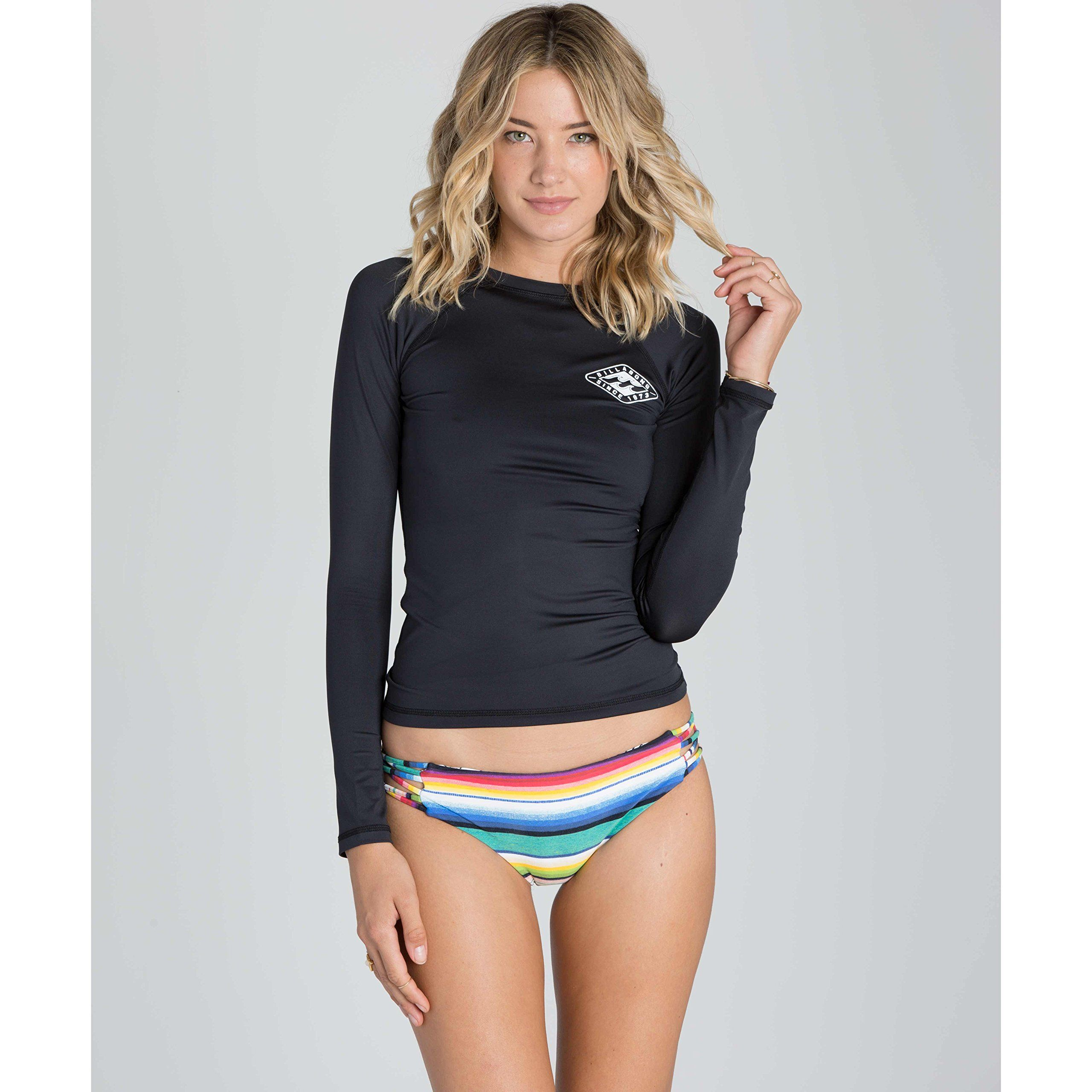105d6f757aac5 canoeing - Billabong Womens Sol Searcher Long Sleeve Rashguard Black Sands  Medium. Extra details might be discovered at the image url.