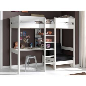 Pin By Mitza Oyaneder On Deco High Sleeper Bed Loft Bed Bunk Bed With Desk