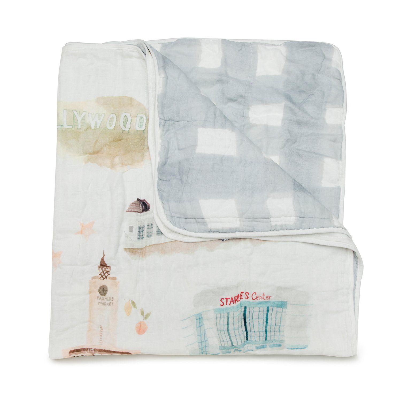 Muslin Quilt Blanket - Los Angeles
