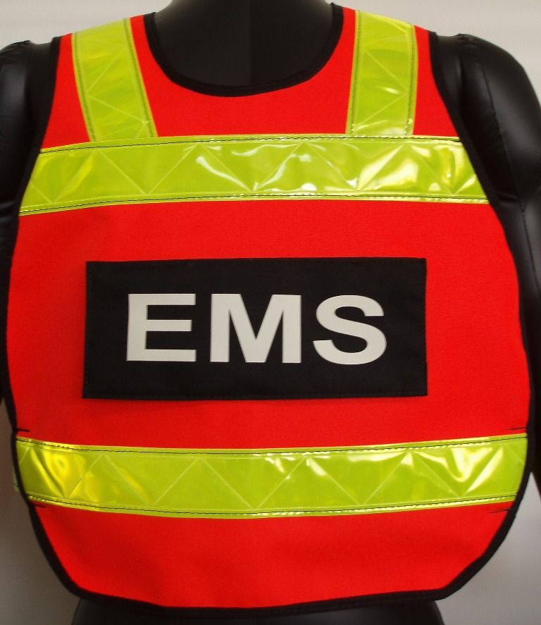 Ansi class ii pull over safety reflective vest by
