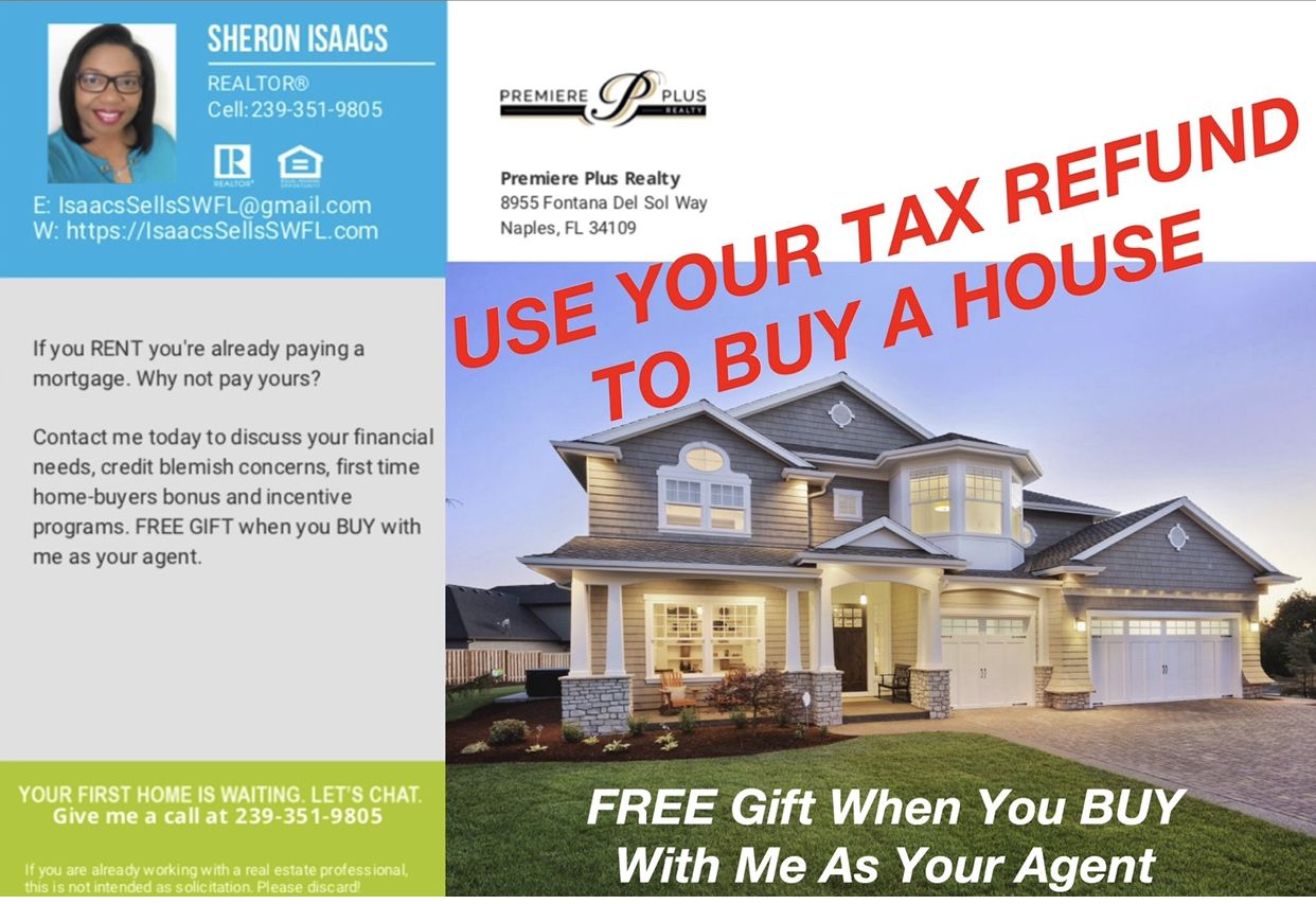 Buy A House With Your Tax Refund Florida Real Estate Tax Refund Fontana
