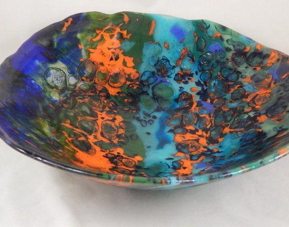 Fused Glass Boiled Sinks By MargieMcNutt On Etsy