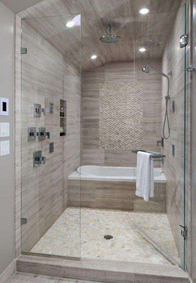 42 Pleasant Small Bathroom Shower With Tub Tile Design Ideas Page 21 Of 43 Full Bathroom Remodel Bathrooms Remodel Simple Bathroom