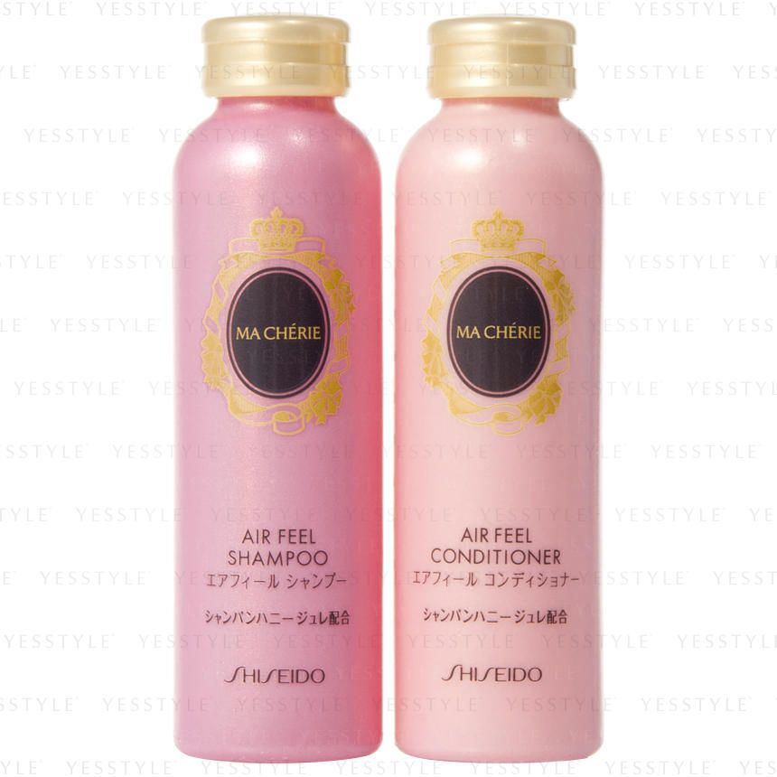 Shiseido Ma Cherie Air Feel Set Shampoo Conditioner Shampoo Shiseido Shampoo And Conditioner