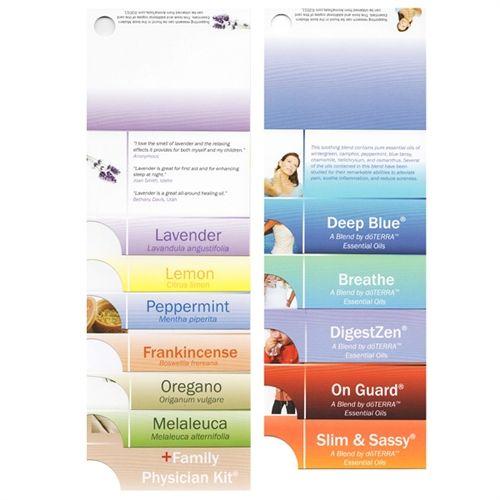 Premium Essential Oil Sample Cards (Pack of 12) Essentials, Oil - sample cards