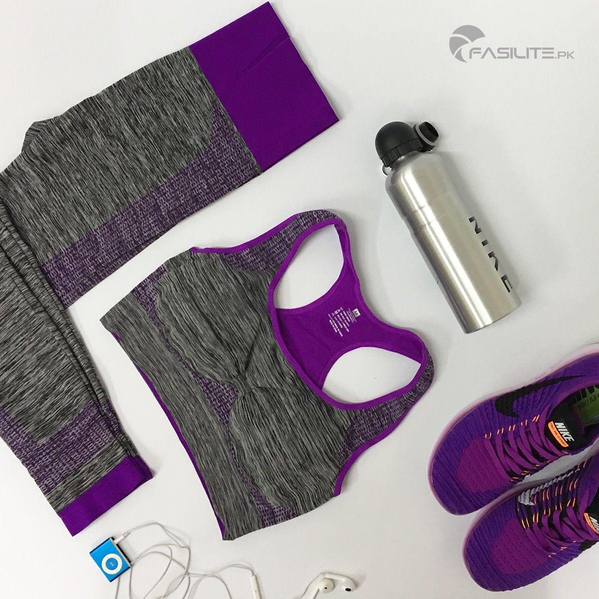 Shop online at www.fasilite.pk/womenstore Workout