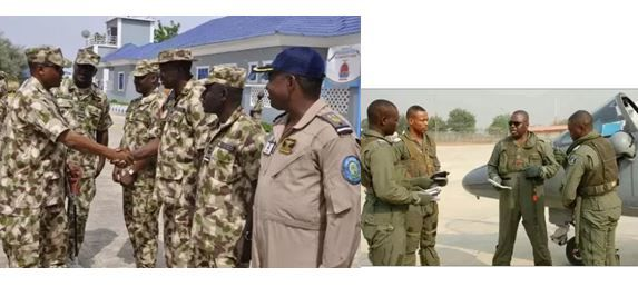 Checkout Nigerian Army, Navy and Airforce ranks & salaries