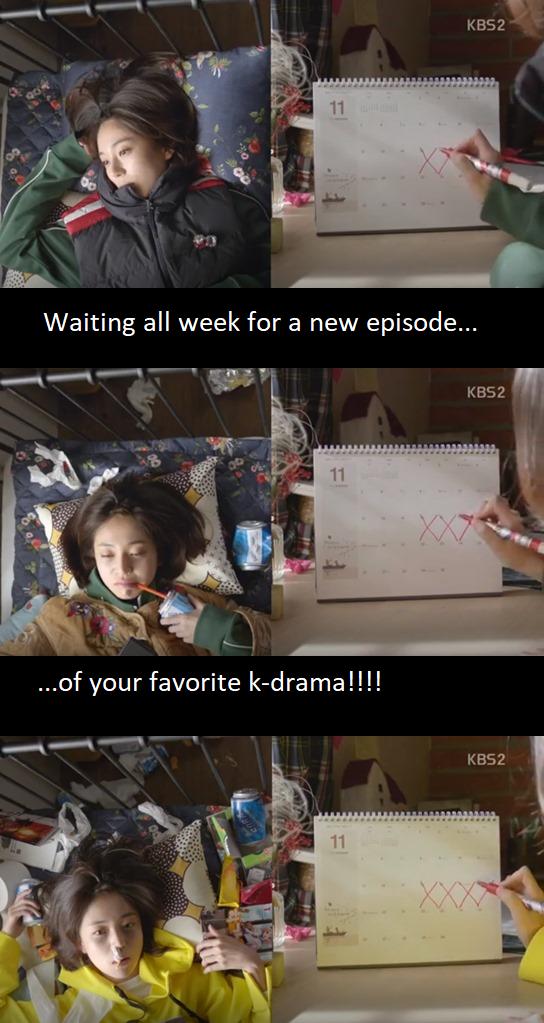 I Was Watching While You Were Sleeping So I Had To Wait Every Weekkkkkk Korean Drama Funny Drama Funny Kdrama Funny