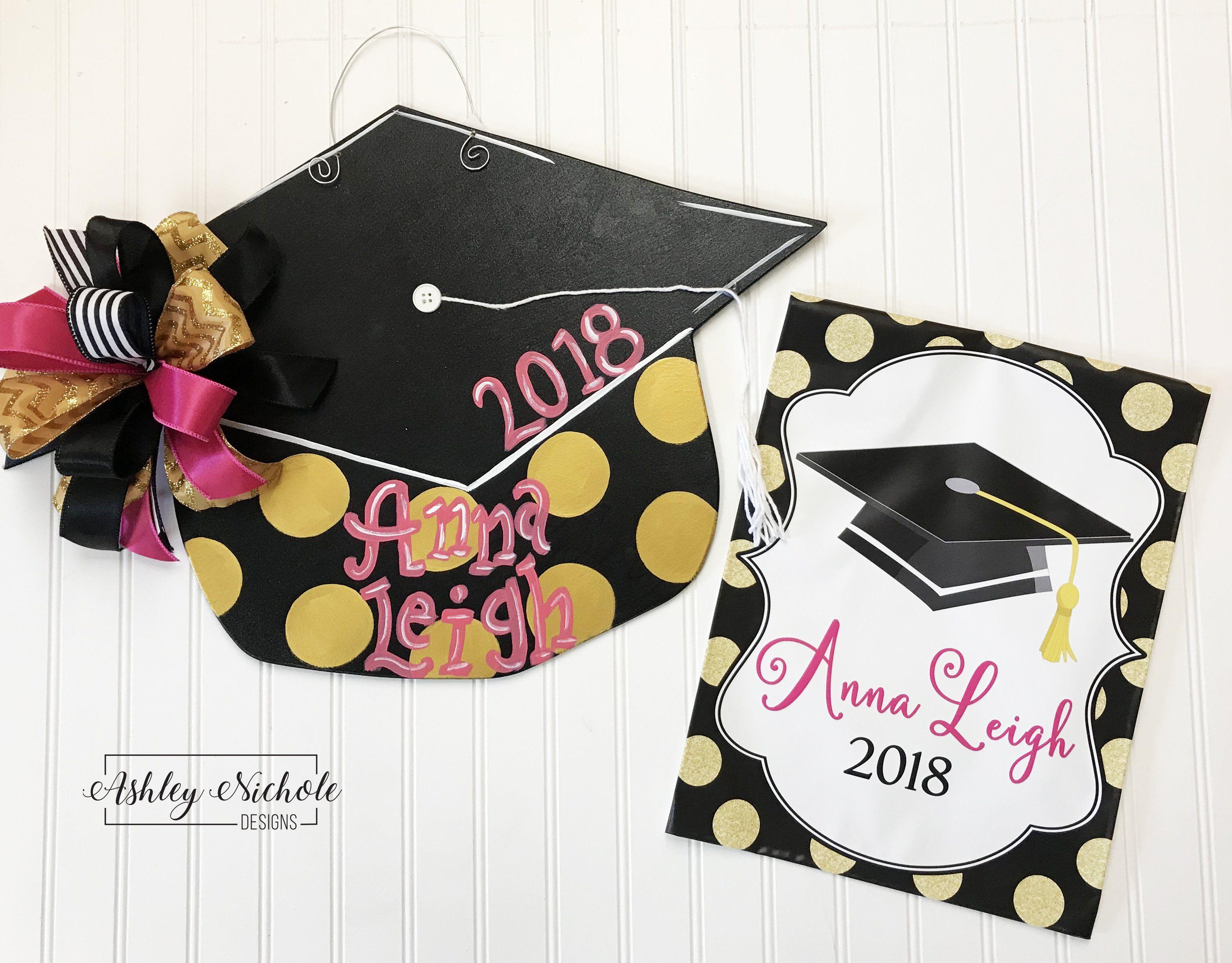 Graduation Cap Door Hanger Graduation Cap Graduation Decorations Graduation