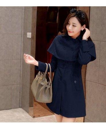 2015 woolen cape coat GHL6110
