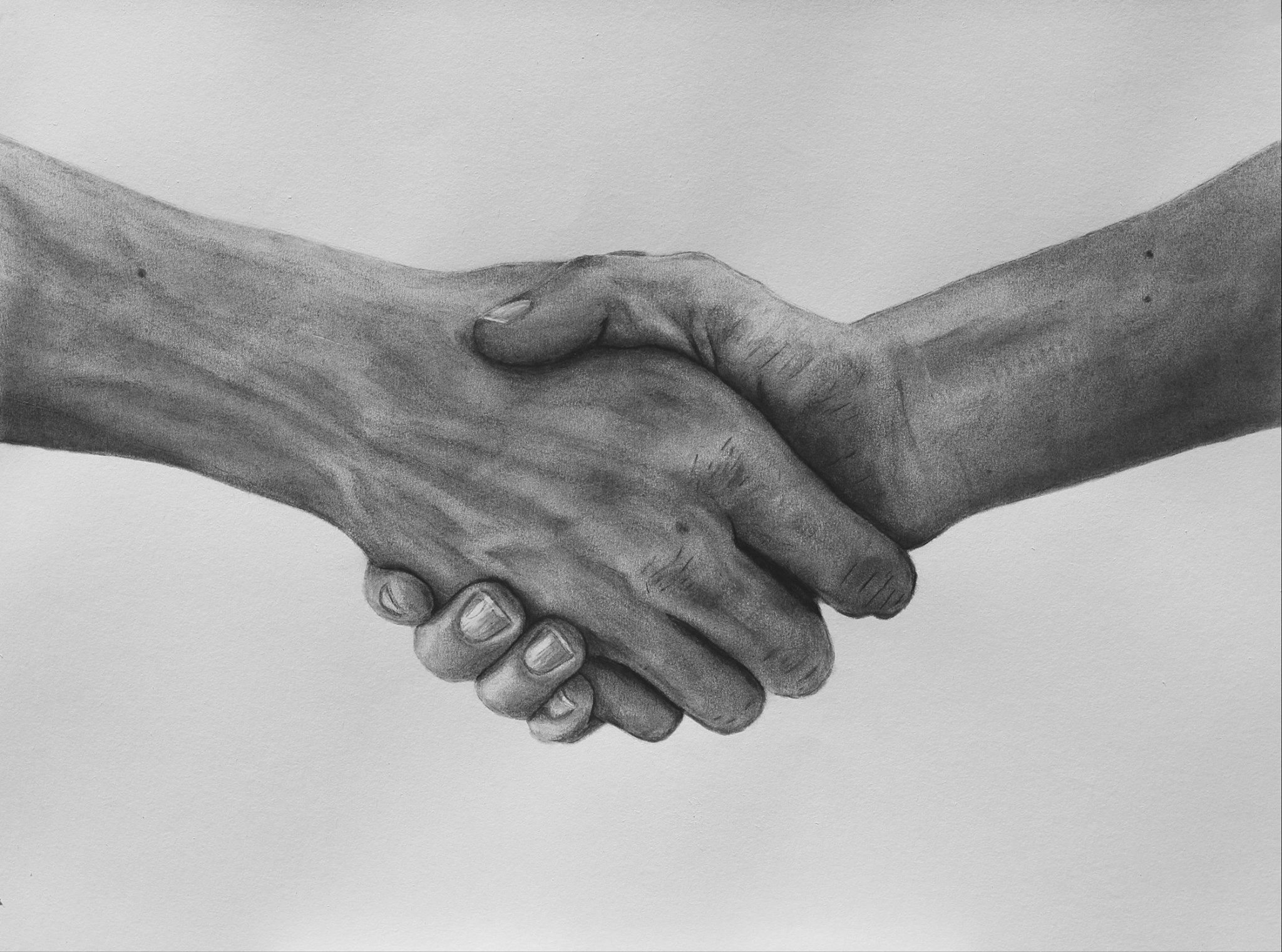 Handshake Charcoal On Paper By Adrian Ball Paintings For Sale Bluethumb Online Art Gallery Hand Drawing Reference How To Draw Hands Art Pages Get inspired for two hands holding each