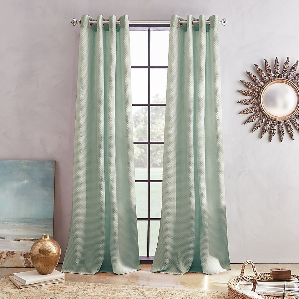 Skylar Grommet Window Curtain Panel Panel Curtains Curtains